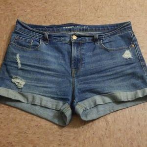 Women's jean shorts